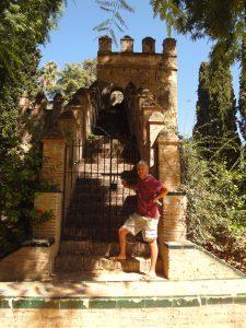 In the Royal Alcazar Seville.