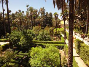 The Royal Alcazar Seville.