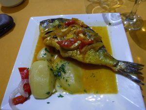 Grilled Dorada.