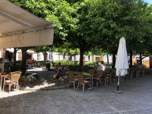 Restaurante La Cueva in Plaza Doña Elvira Seville.