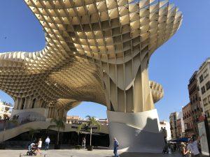 Seville's giant mushroom.