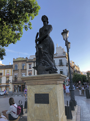 Flamenco in Triana Seville.